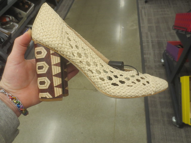 Tory Burch with interesting heel