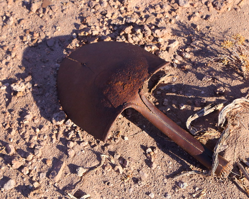 IMG_6337 Shovel Left by CCC, Petrified Forest National Park