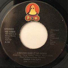 DANA VALERY:WILL YOU LOVE ME TOMORROW(LABEL SIDE-B)