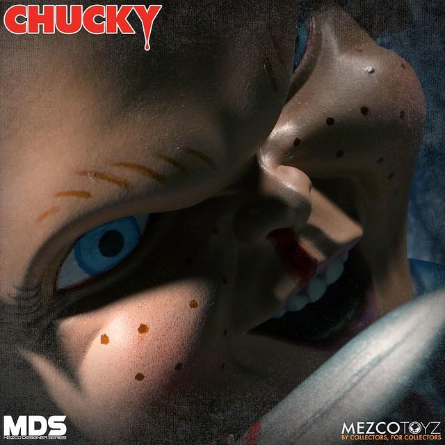 超恐怖鬼娃恰吉再度來襲!MEZCO M.D.S. 系列《靈異入侵》恰吉 豪華版 Deluxe Chucky 6吋可動人偶作品