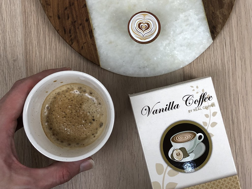 Vanilla Coffee Pods 2018