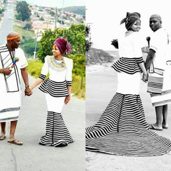 Xhosa traditional wedding attire 2019