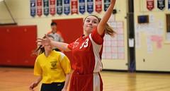 CMS SENIOR GIRLS VARSITY BASKETBALL CLUB vs WESTWOOD,  IN COLOUR ACA PHOTO