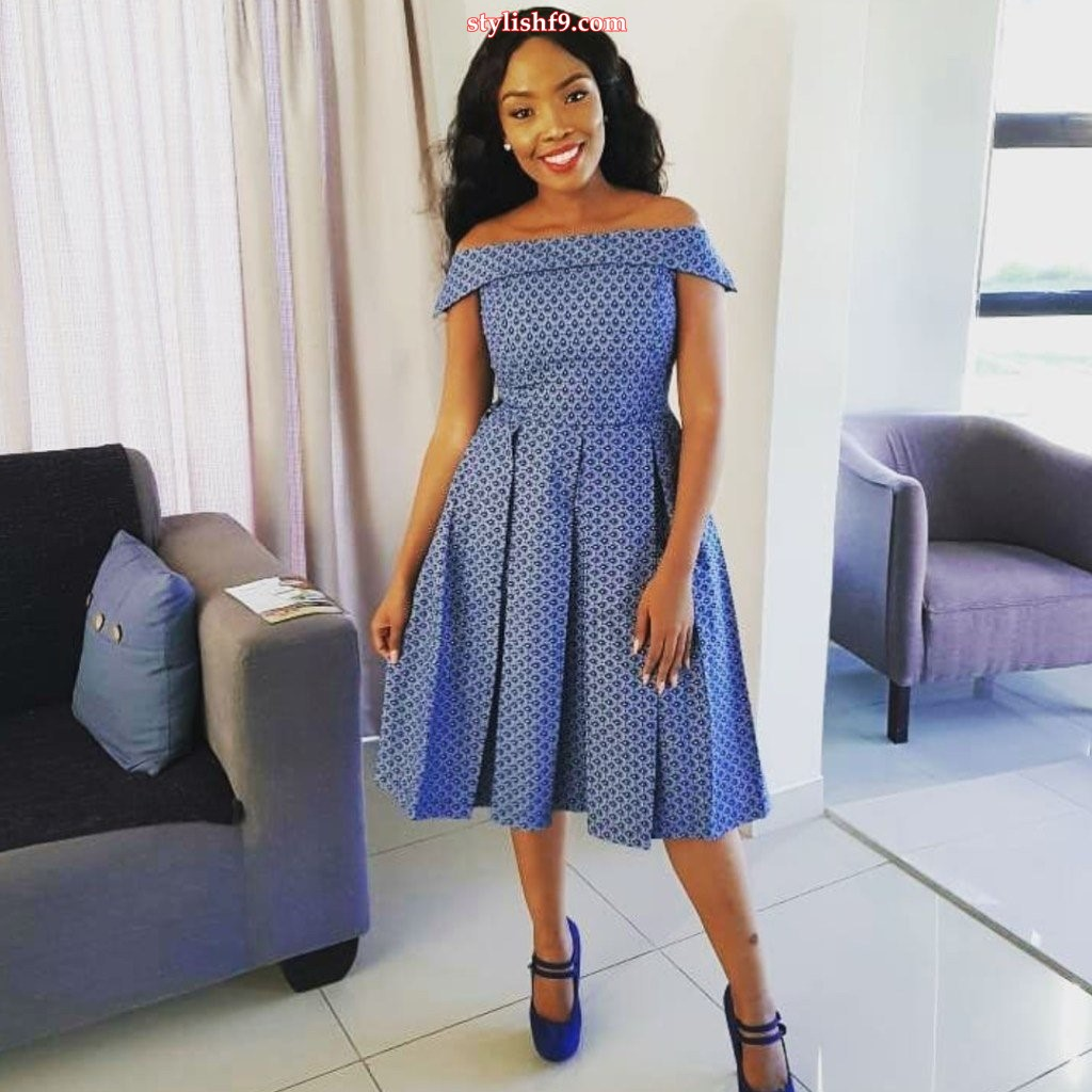 Cinderella Shweshwe Dress: @@ New Look For Shweshwe Dresses 2019 @@ • Stylish F9