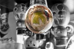 Lens ball Snowman.