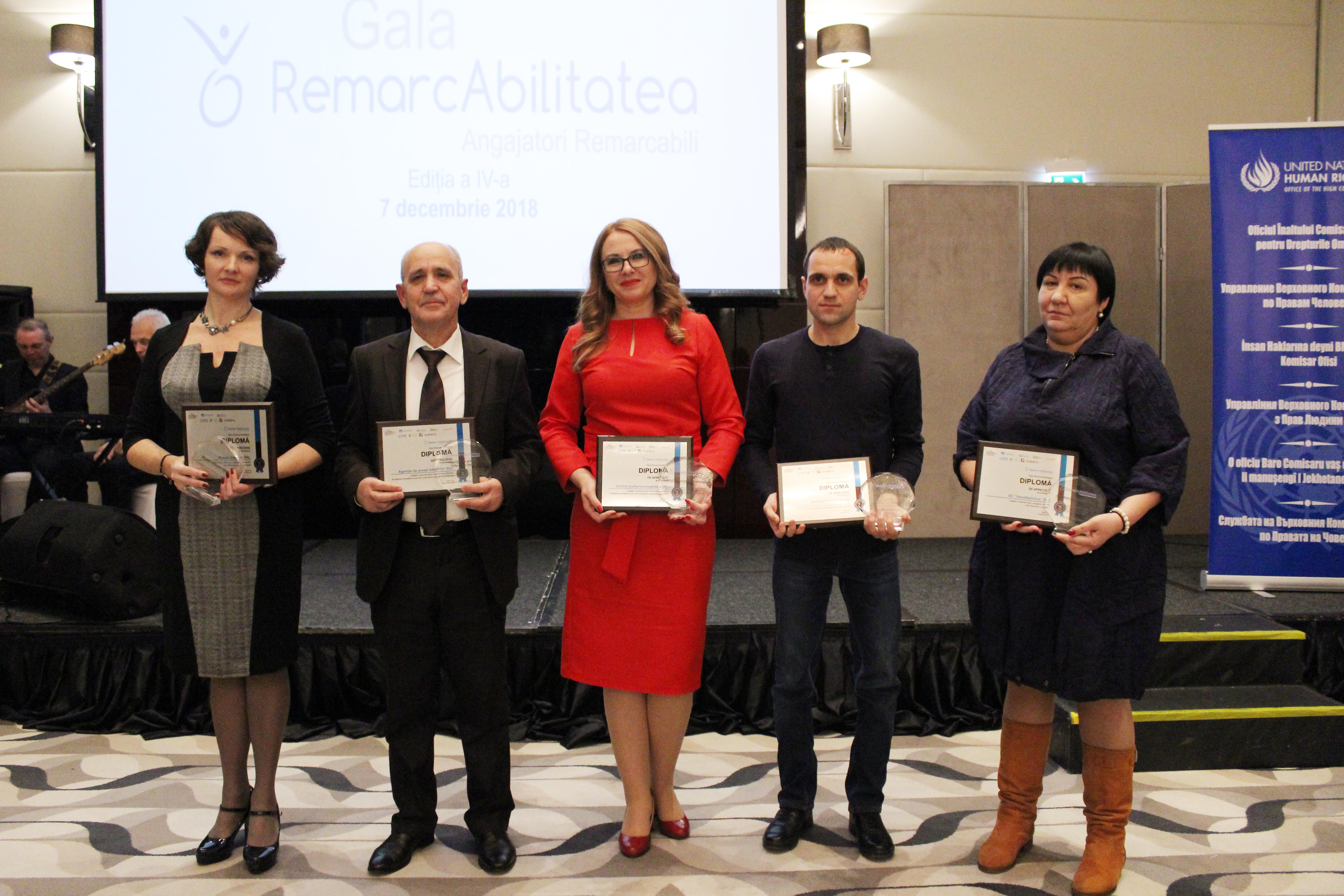 Gala RemarcAbilitatea Ediția a IV-a 2018