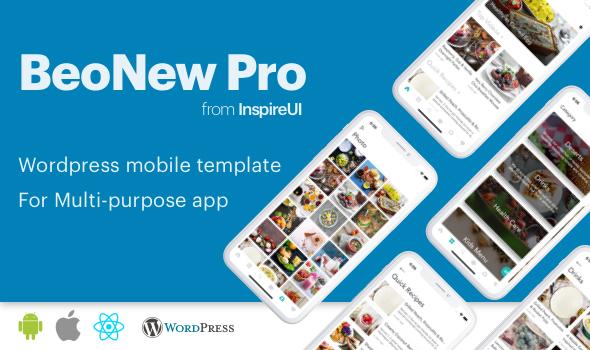 BeoNews Pro v2.9.0 – React Native mobile app for WordPress