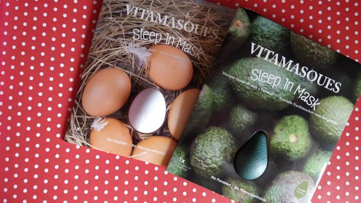 Geef je huid een boost met de sleep in maskers van Vitamasques
