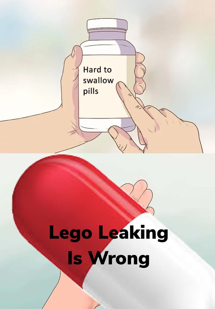 A **VERY** hard pill to swallow!