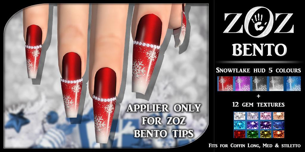 ZOZ BENTO Tips Snowflake Applier