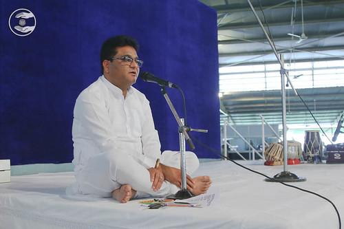 Stage Secretary, Vivek Dhingra from Rani Bagh, Delhi