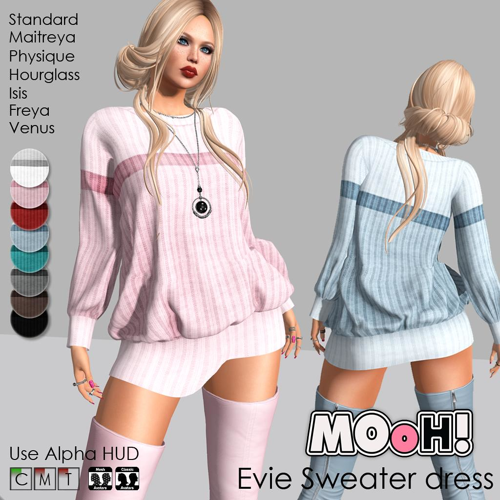 Evie sweater dress - TeleportHub.com Live!