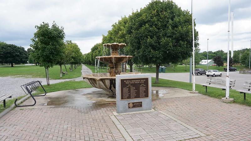 Lynn Valley Trail, War Memorial by Port Dover Leo Club