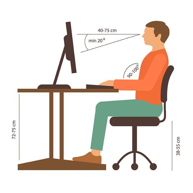 Ergonomic office chairs that support back is necessary for back pain - Image 2