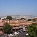 2018-10-26 0703 Indien, Jaipur, Hawa Mahal Road