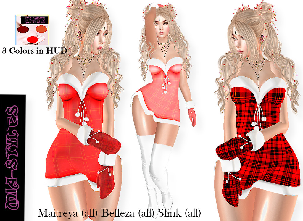 MS-Dress Santa Sexy2 - TeleportHub.com Live!