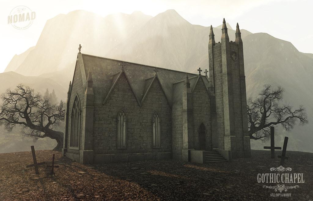 NOMAD // Gothic Chapel @ ECLIPSE - TeleportHub.com Live!
