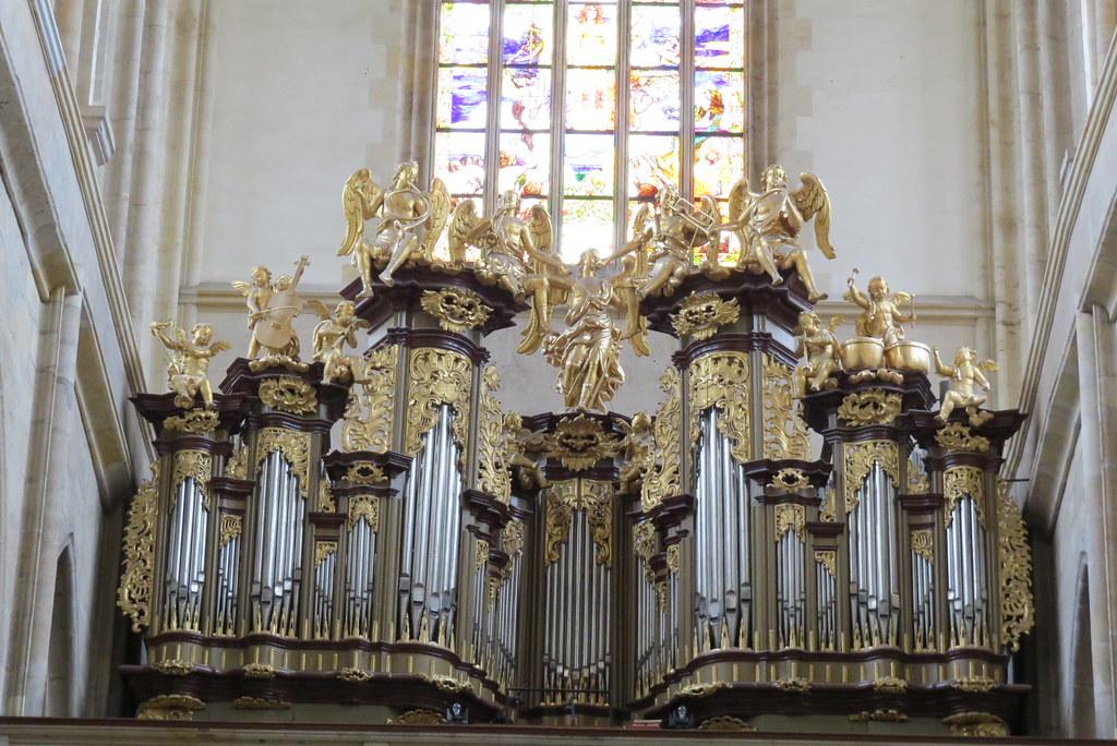 Орган в соборе