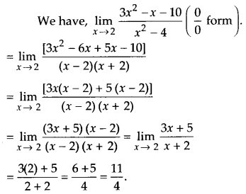 NCERT Solutions for Class 11 Maths Chapter 13 Limits and Derivatives 15