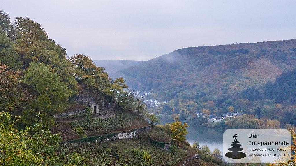 Winzerhütte (aus Schiefer) über Hatzenport