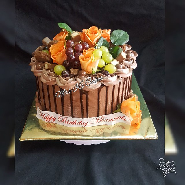 Cake by Mrs K's Cakes.
