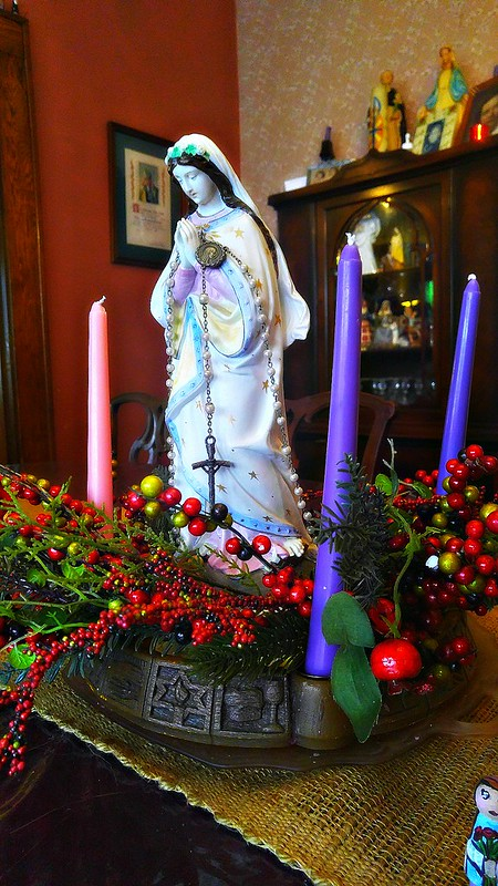 Immaculate COnception Advent Wreath