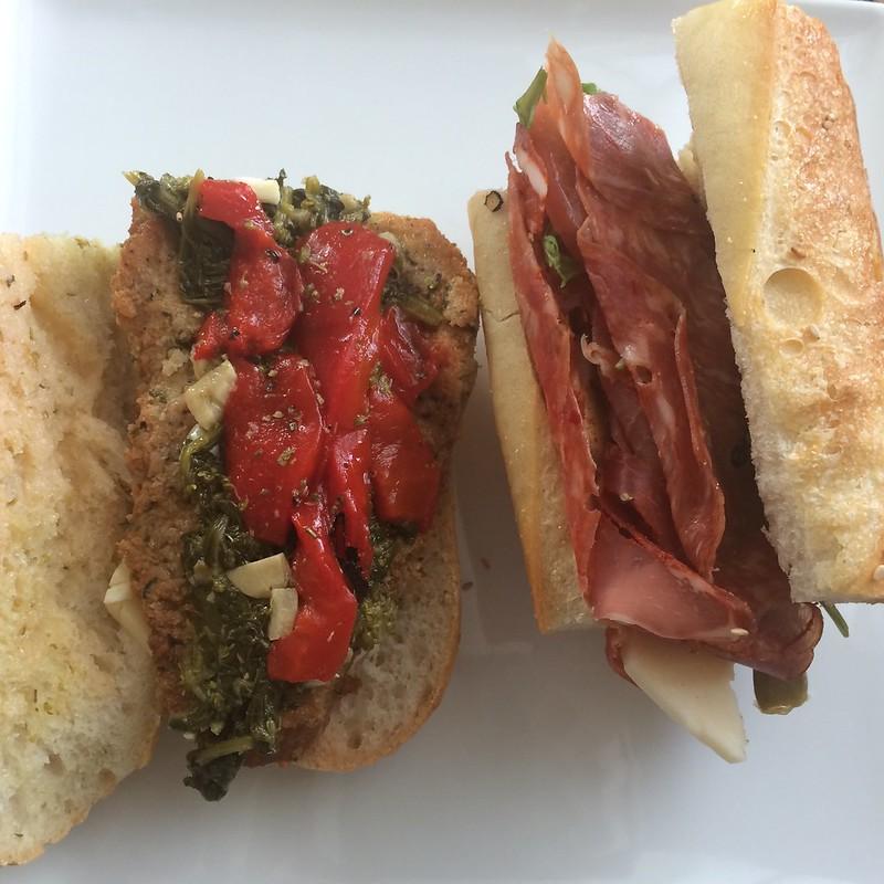 Sandwiches from Caffe Vienna