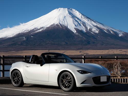 Mt.Fuji+MX-5