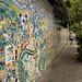 The Wall on Pino Suarez por David J. Greer