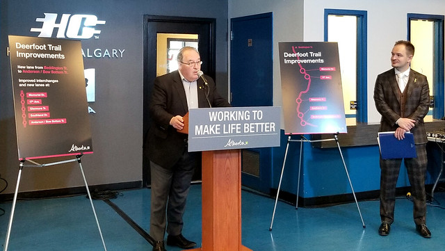 Deerfoot Trail upgrades to create jobs, cut commute