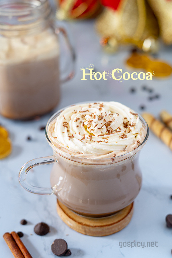 Hot Cocoa Recipe by GoSpicy.net/