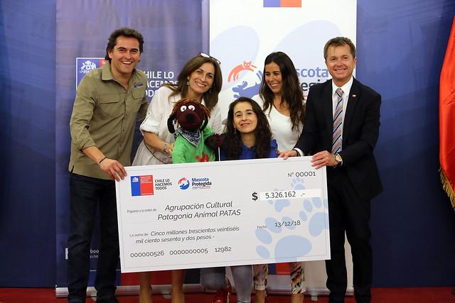 Ceremonia Premiación Fondos Concursables para ONGs Mascota Protegida | 13.12.18