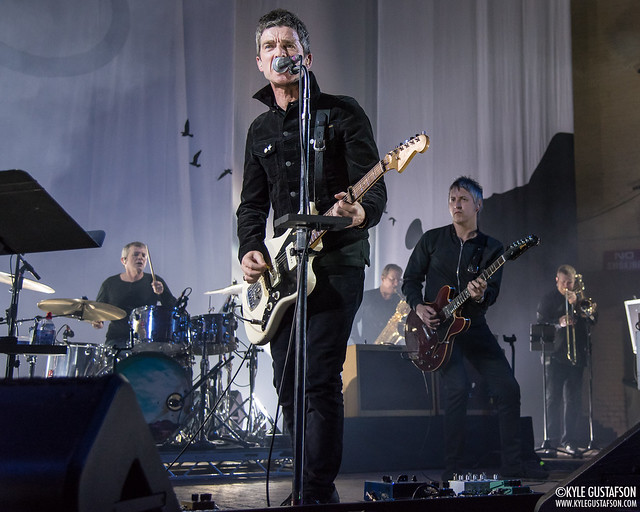 Noel Gallagher performs at the Masonic Temple in Detroit, MI