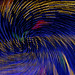 Trail of Lights Abstract