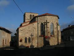 20080901 28943 1002 Jakobus La Chapelle Kirche Kreuz_K - Photo of Saint-Jean-Soleymieux