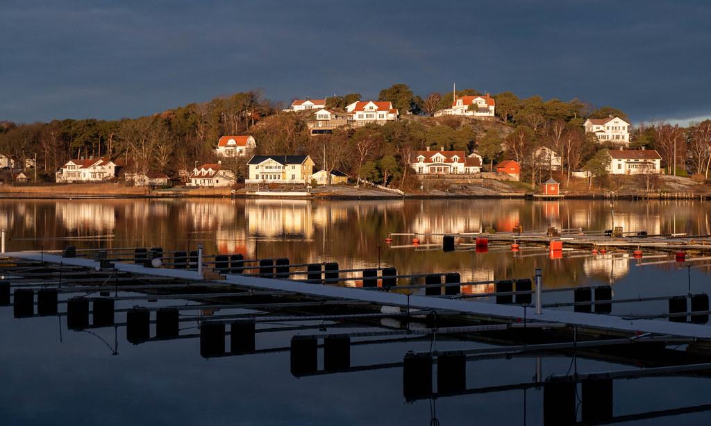 A January morning in Stenungsund Harbor