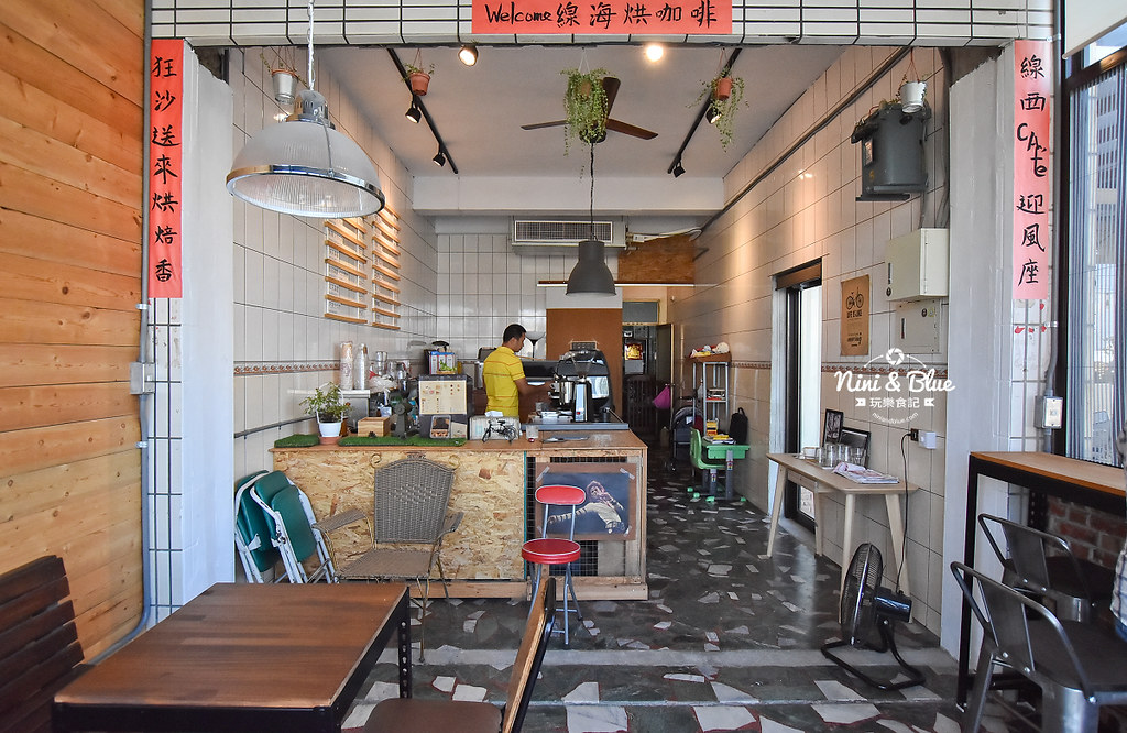 線西咖啡 線海烘咖啡 錦生烘焙01