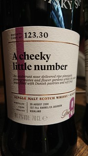 SMWS 123.30 - A cheeky little number