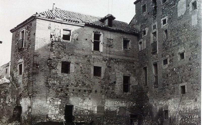 Convento de San Gil o de Gilitos antes de su restauración