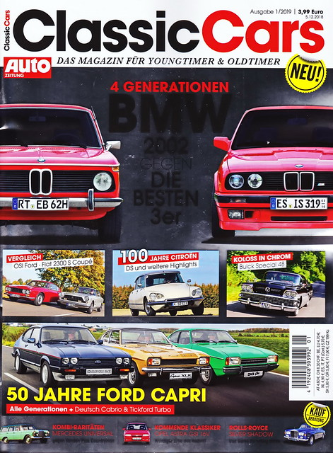 Auto Zeitung - Classic Cars 1/2019