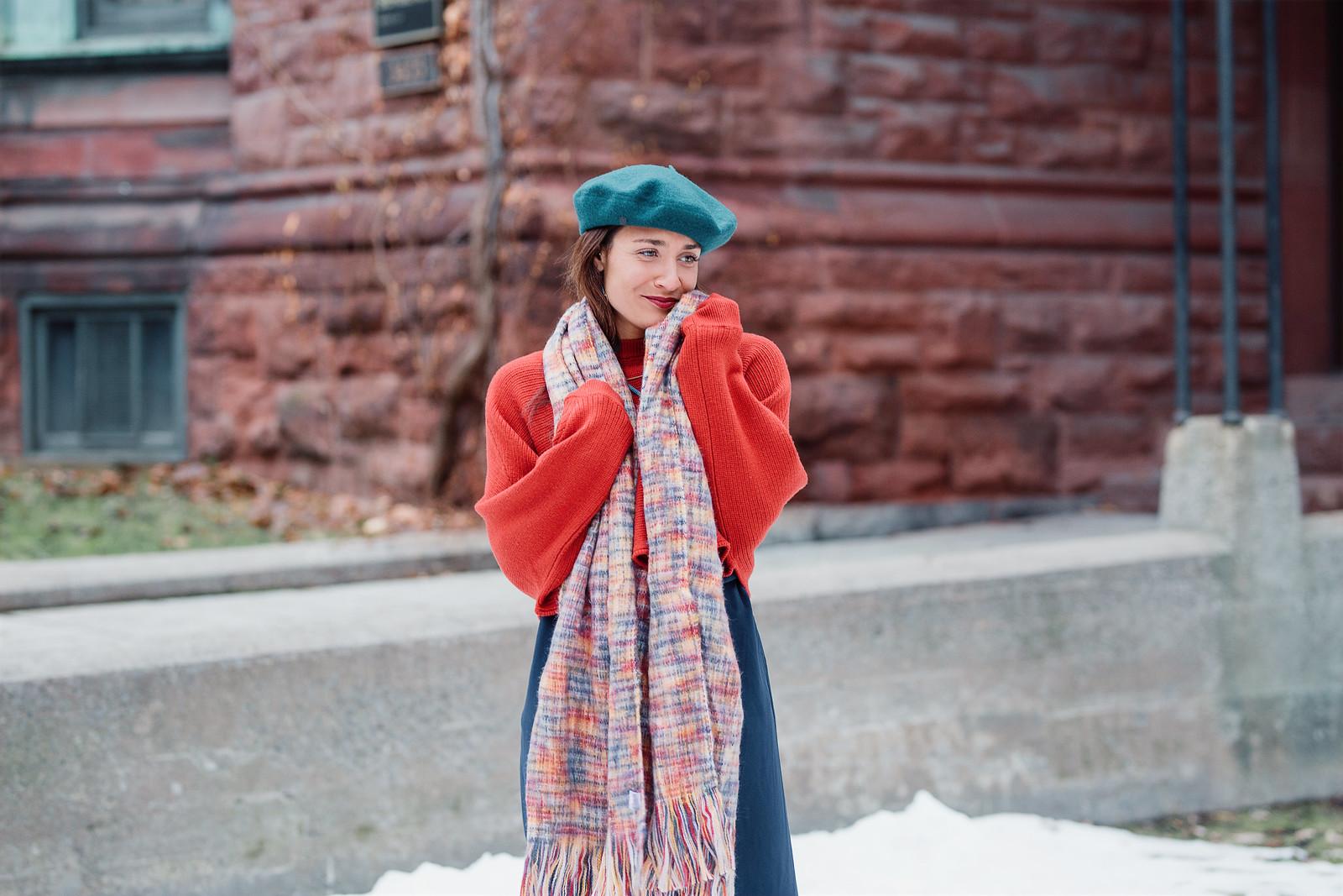 couleurs l'hiver