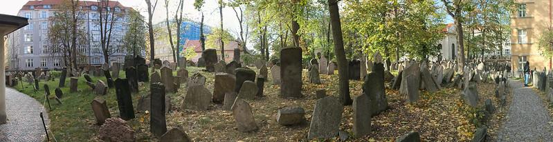 Praga - Antigo cemiterio xudeu - Antiguo cementerio judio - Old Jewish Cemetery - 02