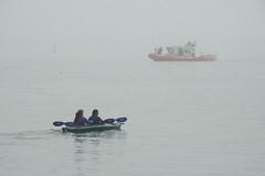 Boats in Coastal Fog