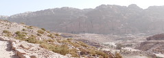 Looking at Royal Tombs in Petra (2)