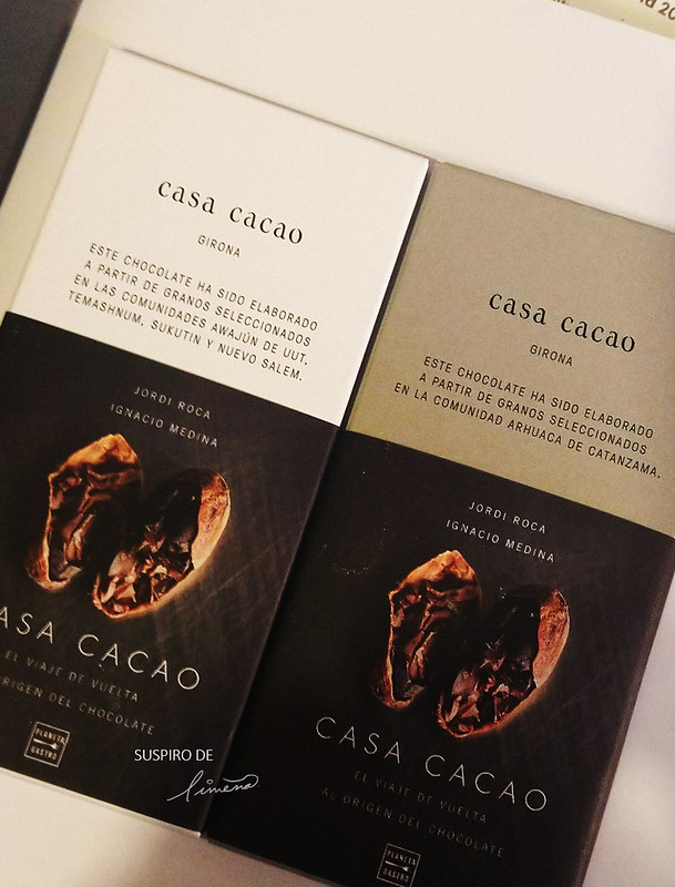 La primeras tabletas de chocolate de Casa Cacao