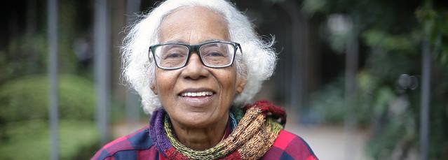 Aos 71 anos, Cátia de França fala sobre política, arte e negritude e avalia um pouco de sua trajetória artística. - Créditos: Nathalia Cariatti