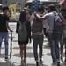Jeunes Mauriciens dans la rue