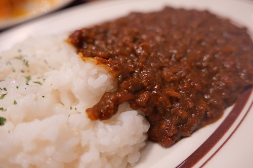 keema curry チキントマトキーマカレー