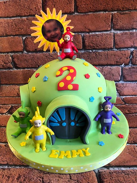 Teletubbies Cake by Pick a Mix Bakes and Cakes
