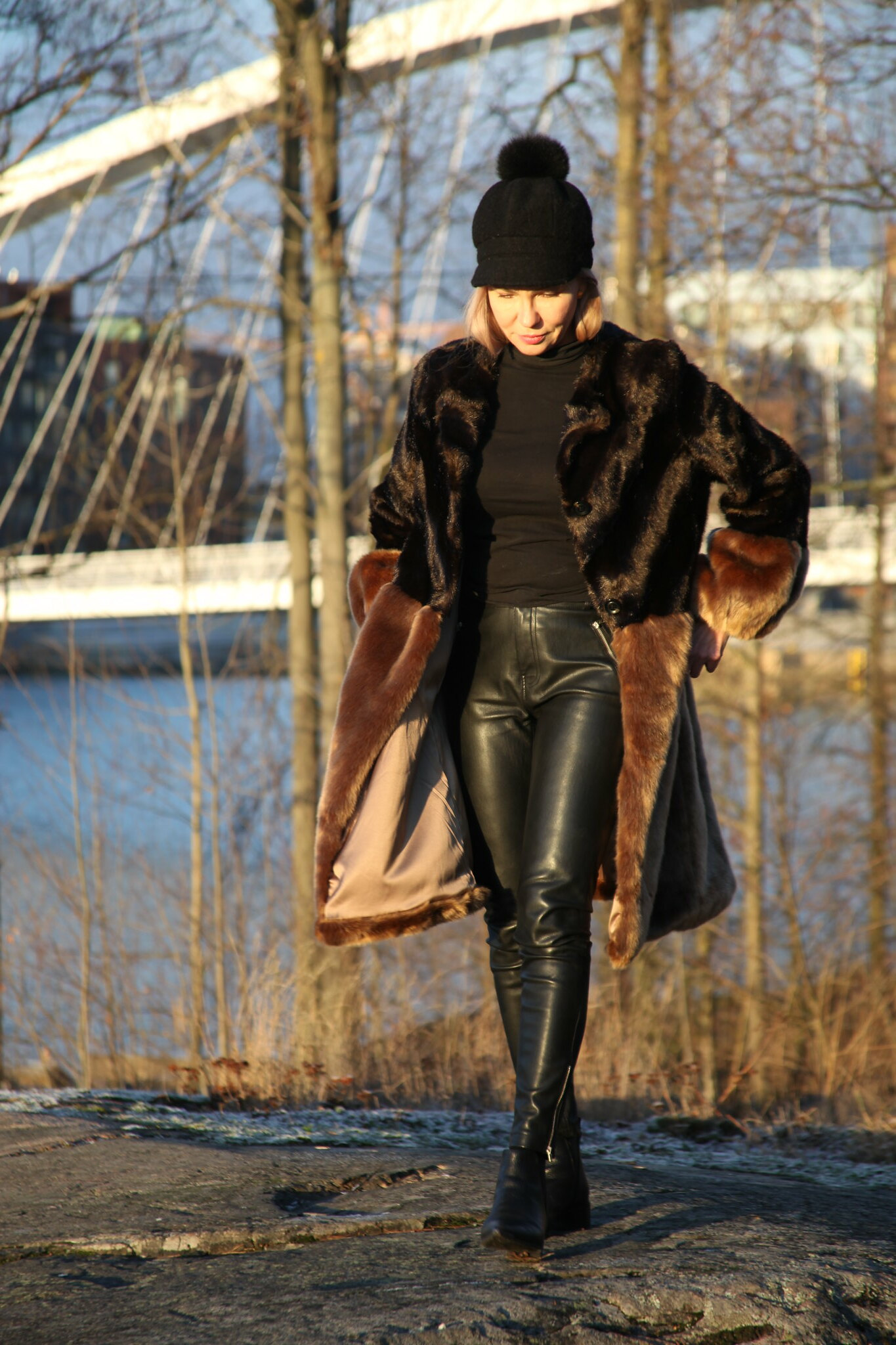 Sand Copenhagen, Fake Fur Coat, Business Woman